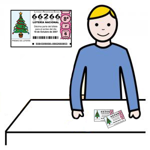 OFERTA de empleo: 1 Comercial con discapacidad para venta de lotería
