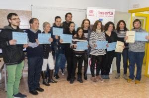 Entrega de diplomas del proyecto EMPLEARTE 2017